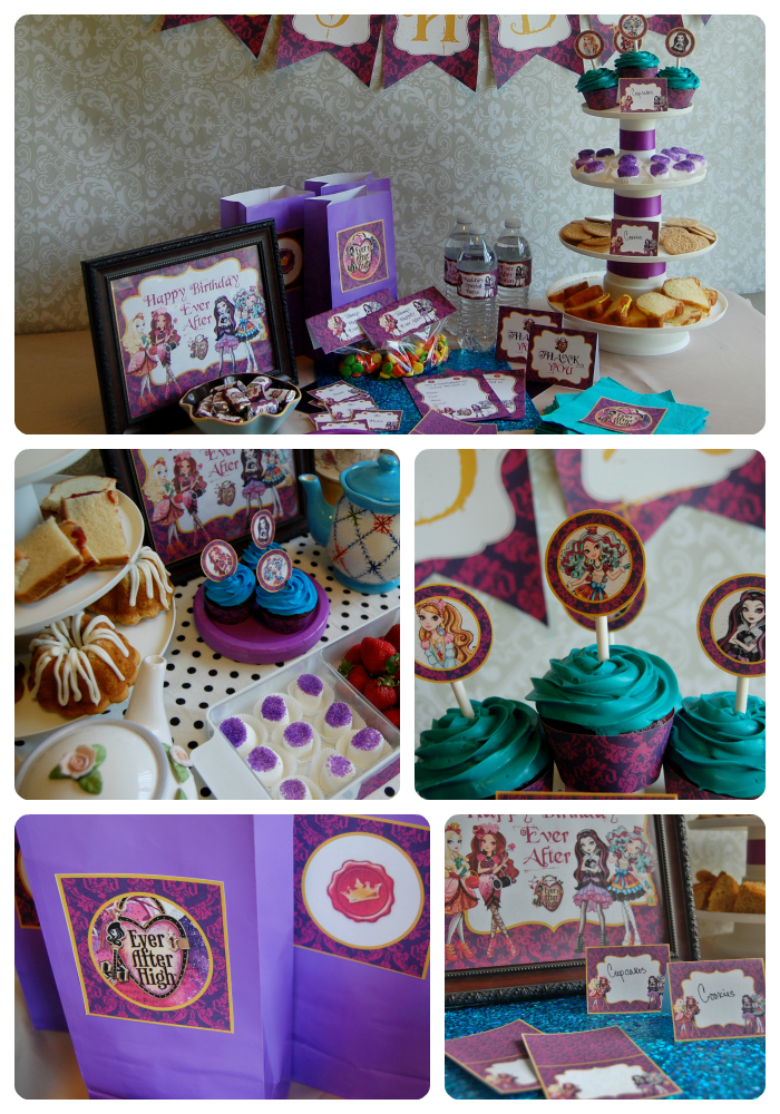 Top ever after high party supplies images for pinterest for Tattoo party ideas