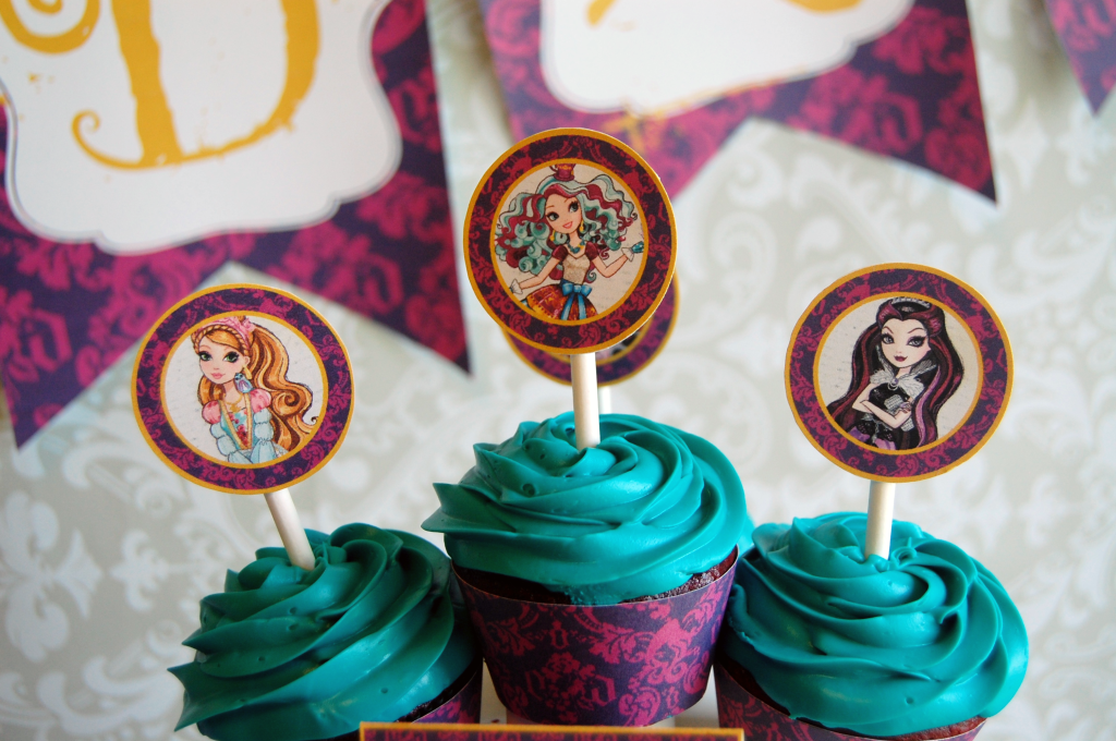 Ever-After-High-cupcake-toppers