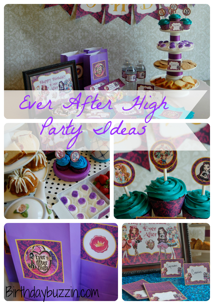 Ever After High Birthday Party Ideas and Supplies  Birthday Buzzin