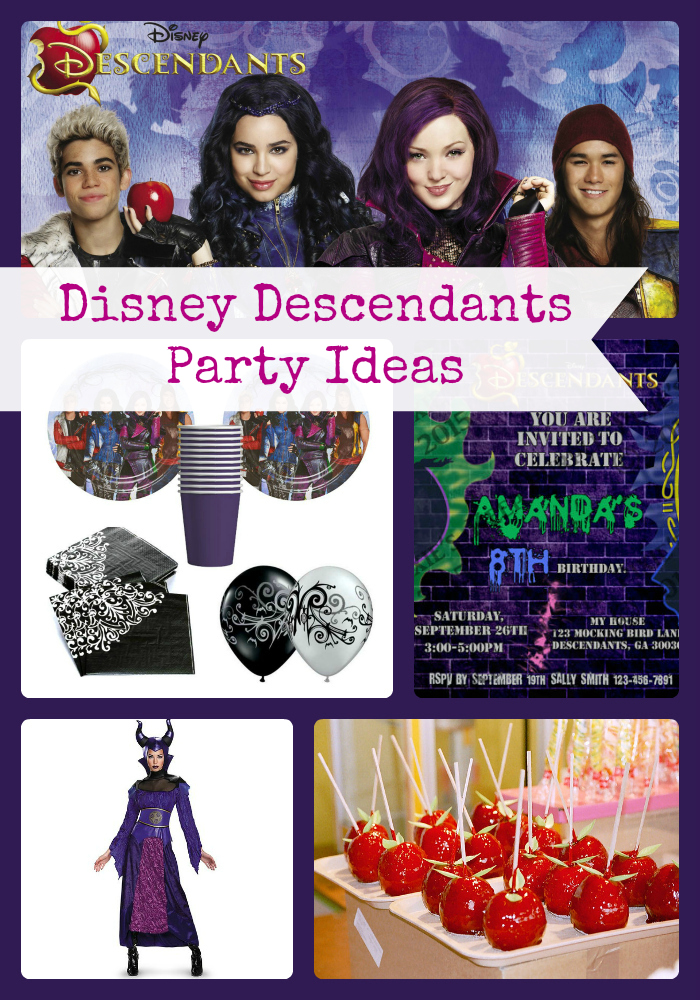Disney Descendants Party Favor Ideas Pictures To Pin On