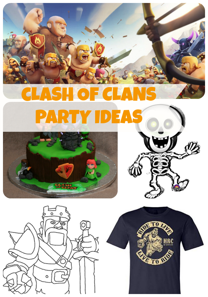 Clash-of-Clans-birthday-party-ideas-and-themed-supplies