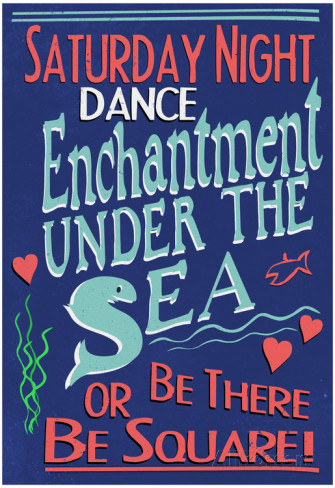 enchanted under the sea dance poster available from allposters.com
