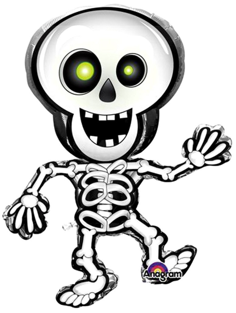 Skeleton balloon available from Amazon.com can be used to represent a wallbreaker.