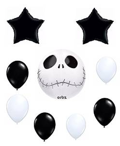 The-nightmare-before-christmas-birthday-party-decorations-balloons-set