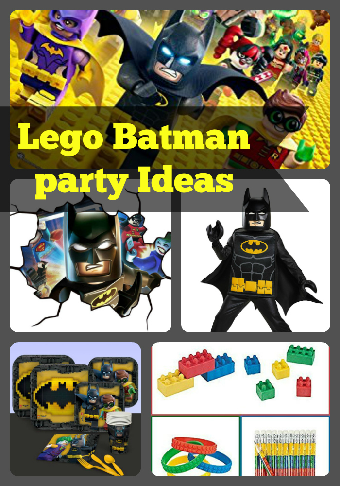 Lego Batman Birthday Party Ideas and Themed Supplies | Birthday Buzzin