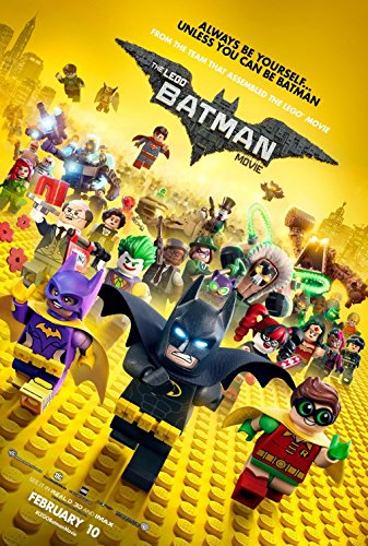 Lego Batman Movie Poster Available From Amazon