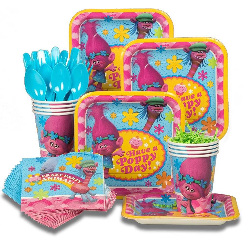 Trolls birthday party supplies