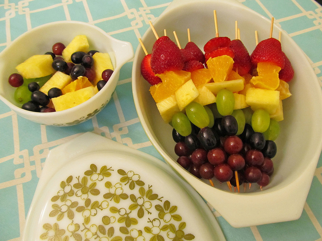 Fruit Skewers (picture courtesy of Aquaowl)