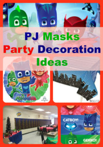 PJ Masks birthday party decorations ideas and supplies
