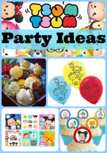 tsum tsum party ideas and birthday supplies