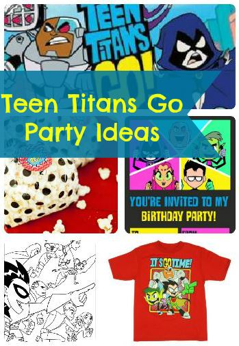 Teen Titans Go Birthday Party Ideas And Supplies