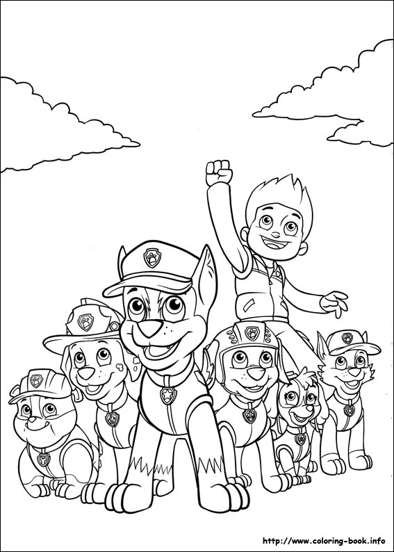 coloring book ~ Coloring Book Paw Patrol Pages Free Printable ... | 794x567