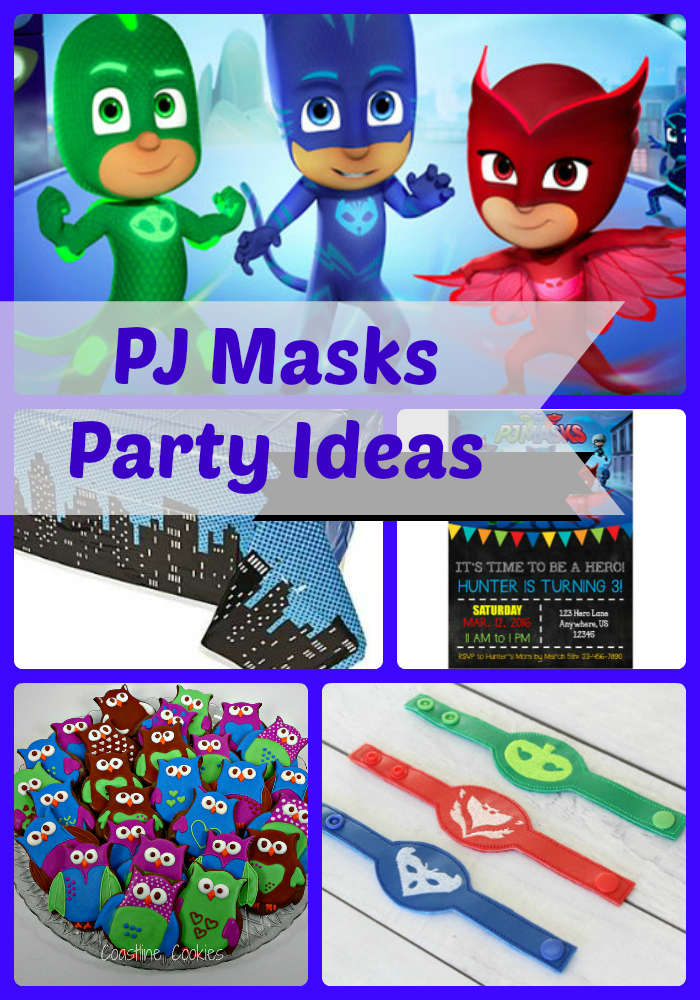 c0af055a PJ Masks Birthday Party Ideas and Themed Supplies | Birthday Buzzin