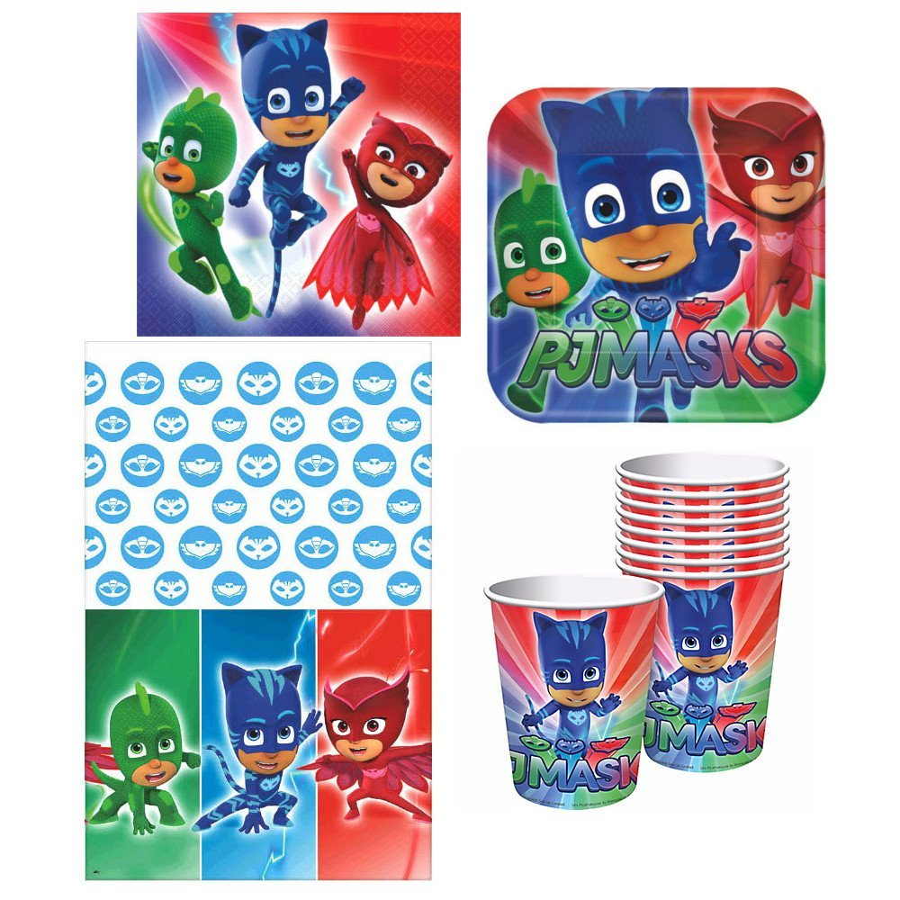 Pj Masks Party Plates Cups Napkins