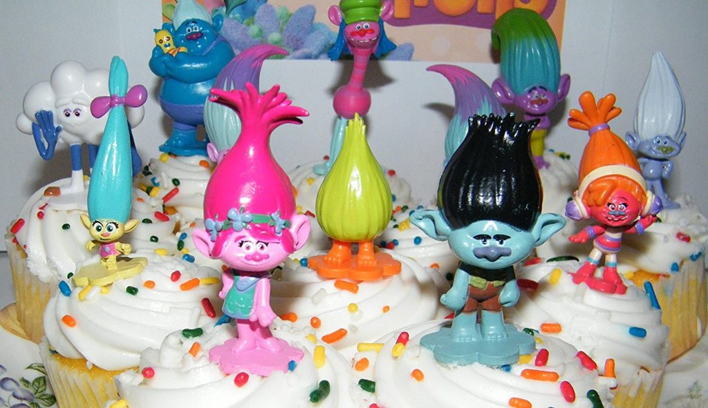 Trolls Cupcakes Minifigures Available From Amazon