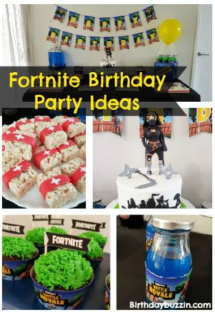 Fortnite Birthday Party Ideas And Themed Supplies Birthday