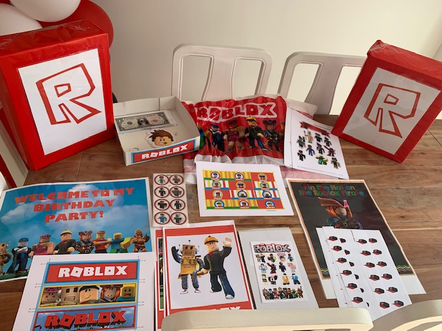 Roblox Birthday Party Printables Archives Birthday Buzzin